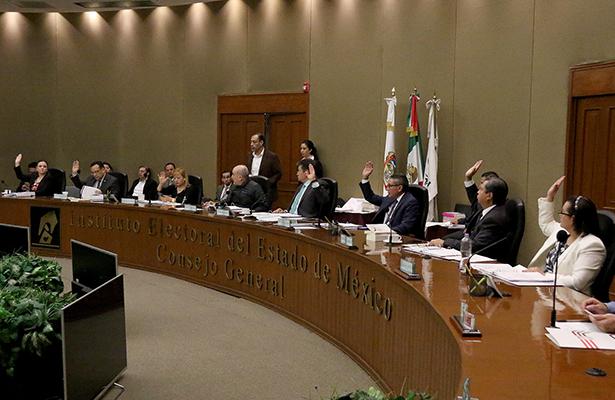 Foto: Sesión del IEEM